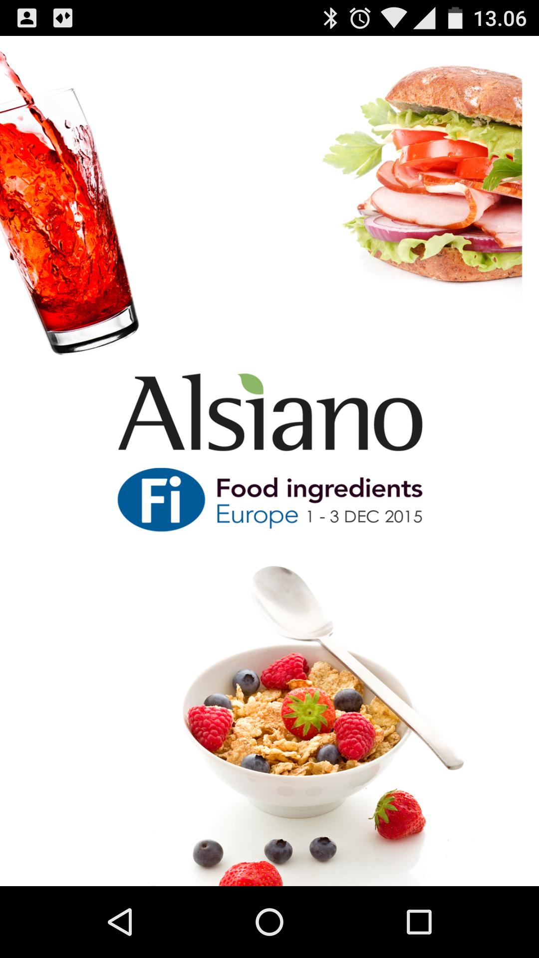 App-udvikling Alsiano Splash