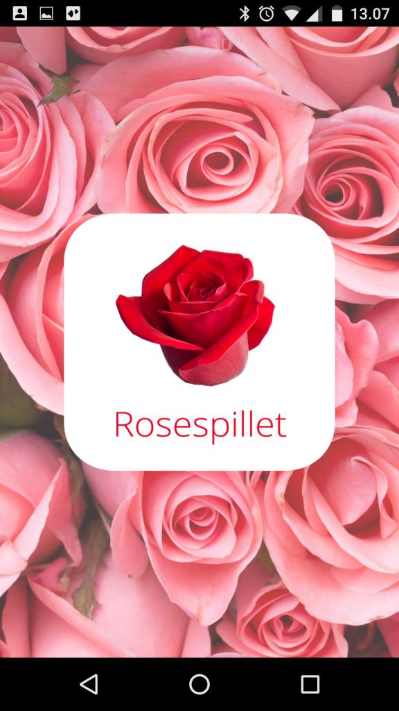 Rosespillet app