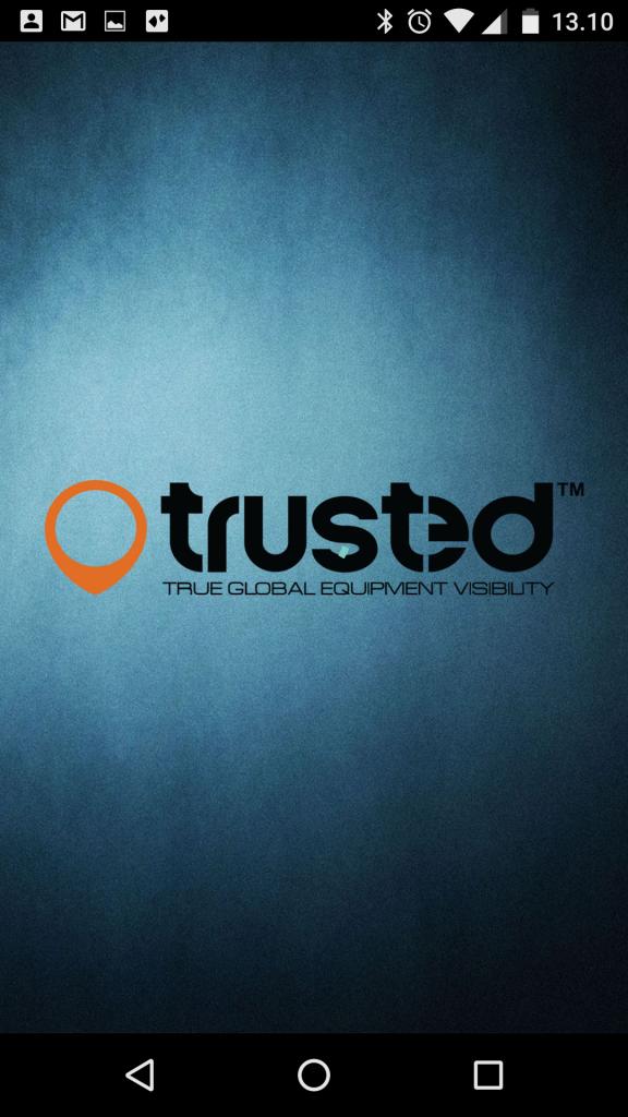 Splashskærm Trusted app